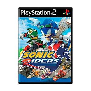 Jogo Sonic Riders - PS2