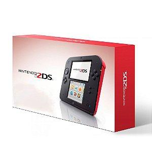 Console Nintendo 2DS Vermelho - Nintendo