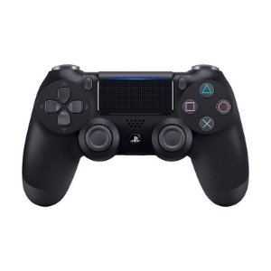 Controle Sony Dualshock 4 Preto Com Led Frontal - PS4