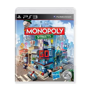 Jogo Monopoly Streets - PS3