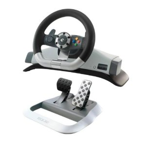 Volante Microsoft Racing Wheel Force Feedback - Xbox 360