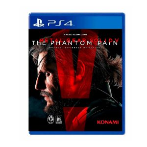 Jogo Metal Gear Solid V: The Phantom Pain - PS4 (Japonês)