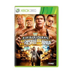 Jogo WWE: Legends of WrestleMania - Xbox 360