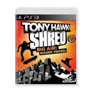 Jogo Tony Hawk Shred - PS3