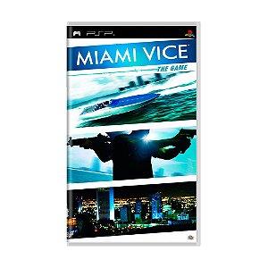 Jogo Miami Vice - PSP