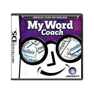 Jogo My Word Coach - DS
