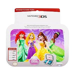 Case Nintendo 3DS Rosa Princesa Disney - Nintendo 3DS, 3DS XL, DSi e DS Lite