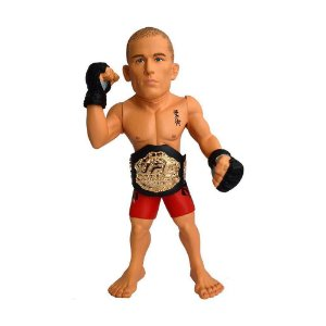 "Action Figure UFC Georges St-Pierre ""Rush"" Championship Edition"