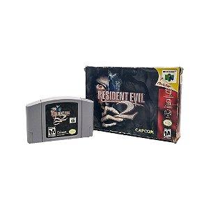 Jogo Resident Evil 2 - N64