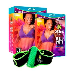 Jogo Zumba Fitness World Party + Fitness Belt - Wii U