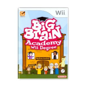Jogo Big Brain Academy: Wii Degree - Wii