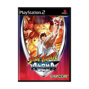Jogo Street Fighter Alpha Anthology - PS2