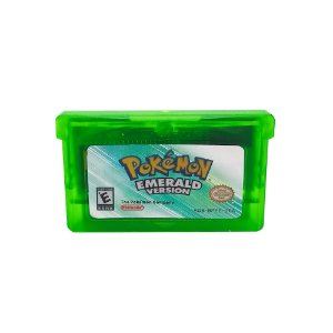 Jogo Pokémon Emerald Version - GBA - Game Boy Advance