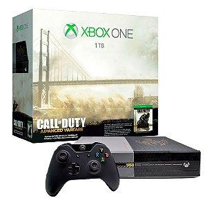 Console Xbox One 1TB (Edição Call of Duty: Advanced Warfare) - Microsoft