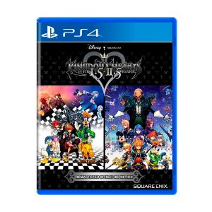 Jogo Kingdom Hearts 1.5 + 2.5 Remix - PS4