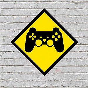 Placa de Parede Decorativa: Controle PlayStation - ShopB
