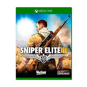Jogo Sniper Elite III - Xbox One