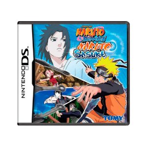 Jogo Naruto Shippuden: Naruto vs Sasuke - DS