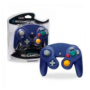 Controle Gamecube Hyper Mega Roxo com fio - Wii e GC