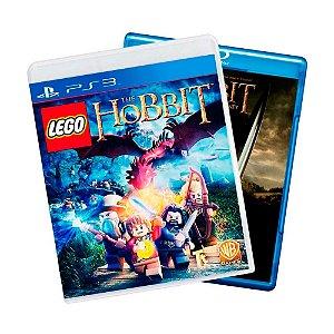 Jogo LEGO The Hobbit + Filme Hobbit em Blu-Ray - PS3
