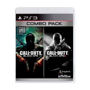 Jogo Call of Duty: Black Ops I + Call of Duty: Black Ops II (Combo Pack) - PS3