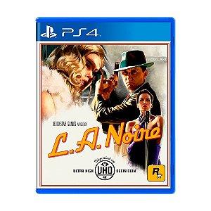 Jogo L.A. Noire - PS4