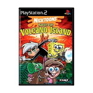 Jogo Nicktoons: Battle for Volcano Island - PS2