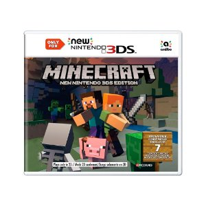 Jogo Minecraft (New Nintedo 3DS Edition) - 3DS
