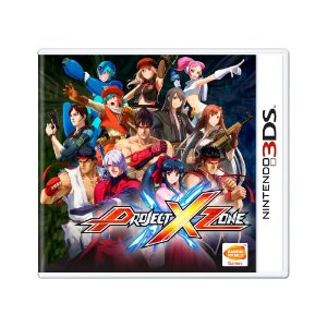 Jogo Project X Zone (Limited Edition) - 3DS
