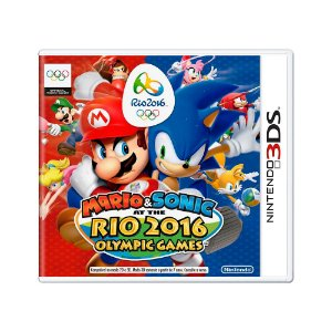 Jogo Mario & Sonic at the Rio 2016 Olympic Games - 3DS