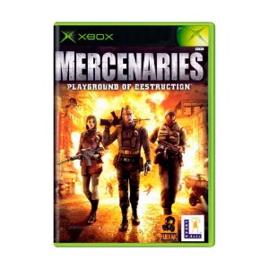 Jogo Mercenaries Playground of Destruction - Xbox