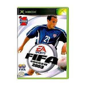 Jogo Fifa Soccer 2003 - Xbox