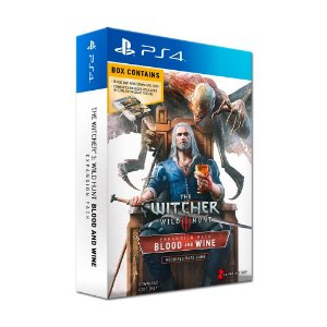 Pacote de Expansão The Witcher 3: Wild Hunt: Blood and Wine - PS4