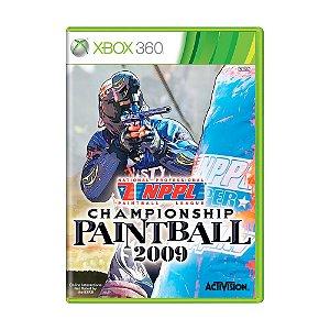 Jogo NPPL Championship Paintball 2009 - Xbox 360