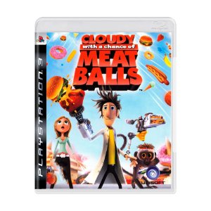 Jogo Cloudy With A Chance Of Meatballs - PS3