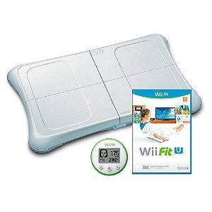 Jogo Wii Fit U + Balance Board - Wii U