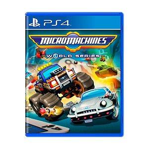 Jogo Micro Machines World Series - PS4