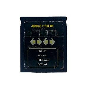 Jogo Apple Vision 4 em 1 (Skiing, Tennis, Freeway e Boxing) - Atari