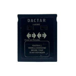 Jogo Dactar 4 em 1 (Football, Missile Command, Mouse Trap e Star Voyager) - Atari