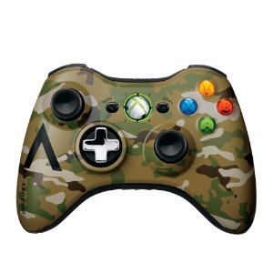 Controle Microsoft Camuflado sem fio - Xbox 360