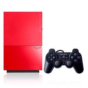 Console PlayStation 2 Vermelho - Sony