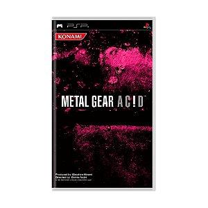 Jogo Metal Gear Acid - PSP