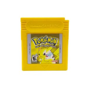 Jogo Pokémon Yellow Version (Special Pikachu Edition) - GBC