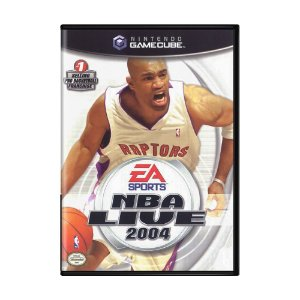 Jogo NBA Live 2004 - GameCube