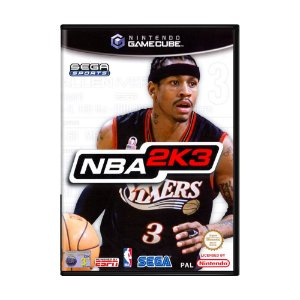 Jogo NBA 2K3 - GameCube