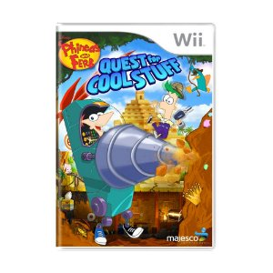 Jogo Phineas and Ferb: Quest for Cool Stuff - Wii