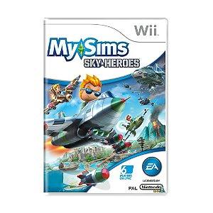 Jogo MySims SkyHeroes - Wii