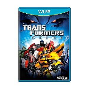 Jogo Transformers: Prime - Wii U