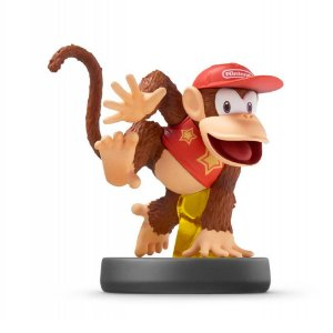 Nintendo Amiibo: Diddy Kong - Super Smash Bros - Wii U e New Nintendo 3DS