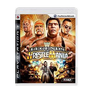 Jogo WWE: Legends of WrestleMania - PS3
